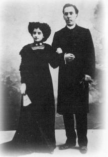 Antonio Machado y Leonor Izquierdo