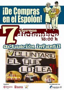¡ DE COMPRAS EN EL ESPOLÓN !