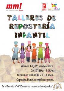 TALLERES DE REPOSTERÍA INFANTIL