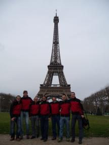 Los Bomberos del Parque Municipal de Soria participaron en el Cross Internacional organizado por los Bomberos de París