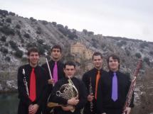 El Quinteto de Viento de la Banda Municipal de Música abrirá mañana el Ciclo Las Edades en la Cueva