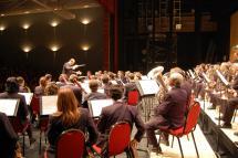 Segundo concierto de verano de la Banda de Música de Soria en el Parque del Castillo