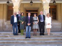 La Red de Ciudades Machadianas celebra una Asamblea Ordinaria en el Ayuntamiento de Soria coincidiendo con la Feria del Libro