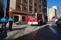 El Parque Municipal de Bomberos de Soria extingue dos incendios en menos de siete horas