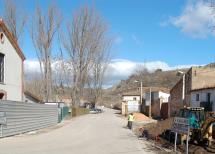 La carretera de Almajano sufrirá cortes esporádicos en el entorno del por corta de árboles hasta el 17 de abril.