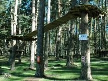 El Ayuntamiento de Soria y la Mancomunidad de los 150 pueblos ofrecen descuentos de hasta el 50% en el Parque de Aventuras de El Amogable