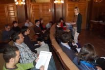 El Foro Joven promovido por el Ayuntamiento de Soria continúa con su labor participativa