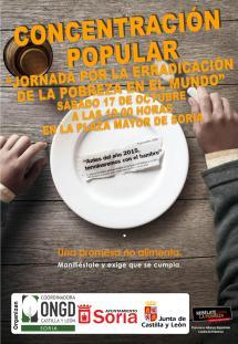 Las ONGD de la comunidad reclaman más hechos y menos palabras en la lucha contra el hambre