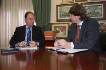Los alcaldes de Soria y Calatayud acuerdan la firma de un convenio de colaboración turística y cultural entre ambas ciudades