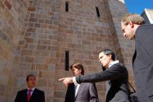Mañana martes se inauguran las obras de recuperación del entorno del Ábside de la Iglesia de La Mayor y la Plaza de San Gil