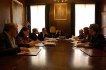 La Mesa de Diálogo Social celebra su primera reunión en el Ayuntamiento de Soria