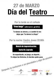 El Ayuntamiento de Soria colabora en la celebración del Día del Teatro