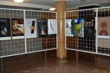 Ya se pueden ver en el Patio de Columnas del Ayuntamiento los trabajos presentados al Concurso de Carteles de la XII Edición del Certamen Internacional de Cortos Ciudad de Soria