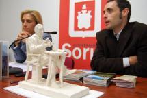 Soria contará en el Collado con una nueva escultura de Gerardo Diego