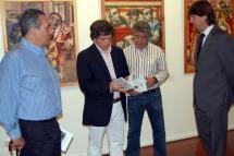 """Esta mañana ha quedado inaugurada """"Tauromaquia de temblores"""", la nueva exposición del Palacio de la Audiencia"""