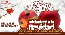 FEC Soria lanza una promoción de descuentos navideños con la colaboración del Ayuntamiento de Soria