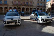 La Policía Local de Soria cuenta desde ayer con dos nuevos vehículos patrulla