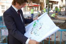 La capital duplicará la superficie peatonal de sus calles hasta alcanzar los 64.000 metros cuadrados
