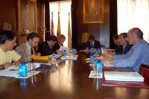 El Patronato del CAEP se reúne en el Ayuntamiento de Soria