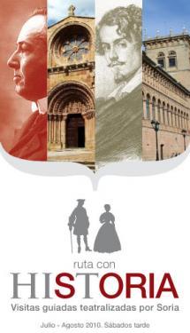 La historia de la Ciudad de Soria se da a conocer a través de rutas teatralizadas durante el verano