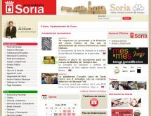 La gestión de Carlos Martínez en el Ayuntamiento de Soria obtiene un sobresaliente en transparencia