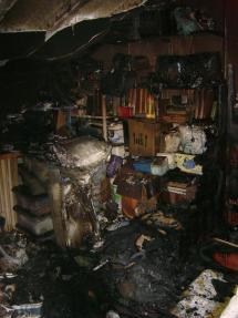 Un incendio en un trastero obliga al desalojo de un edificio