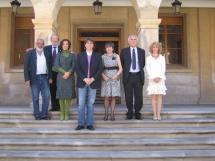 Reunión de la Red de Ciudades Machadianas en el Ayuntamiento de Soria