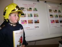 Los Bomberos del Ayuntamiento de Soria inician una campaña de Prevención de Incendios en la edad escolar