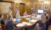 El Ayuntamiento de Soria reúne a responsables del Proyecto de Investigación HYCHAIN para informar sobre los progresos del mismo