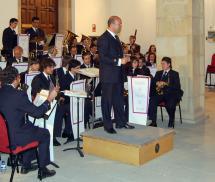 La Banda de Música de Soria participa en las I Jornadas Musicales del Conservatorio Oreste Camarca con un concierto el próximo lunes.
