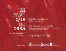 """El próximo 9 de abril se inaugura la exposición de pintura """"El rayo que no cesa"""", actividad enmarcada en la programación de EXPOESÍA 2010"""