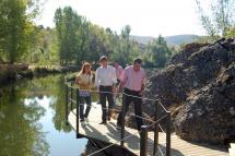 La actuación del Ayuntamiento en las dos márgenes del Duero y su conexión por una pasarela concluirá antes de acabar el año y proseguirá después en el Castillo