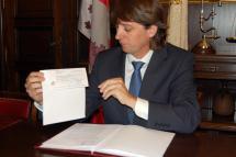 El Ayuntamiento de Soria recibe 583.000 de Campofrío a cambio de una parcela de 2.066 metros cuadrados no contemplada en un convenio urbanístico de la anterior legislatura