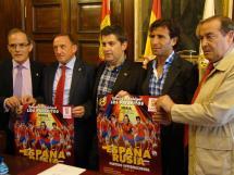Esta mañana se ha presentado en el Ayuntamiento de Soria el encuentro España-Rusia Sub-21 que se jugará en Los Pajaritos el 5 de junio