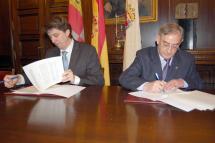 El Ayuntamiento de Soria y ASOVICA ratifican la cesión de la parcela municipal en la que se construirá el Centro de Atención a enfermos mentales