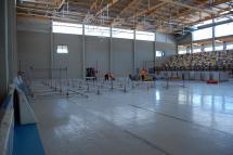 El Pabellón Multiusos del San Andrés se prepara para el concierto de Dani Martín del próximo sábado