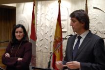El Ayuntamiento de Soria acoge la presentación del Proyecto de Rehabilitación del Banco de España como Sede del Centro nacional de Fotografía