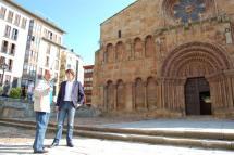El Ayuntamiento de Soria presenta las nuevas obras de accesibilidad de Santo Domingo dentro del plan integral de peatonalización del caso urbano