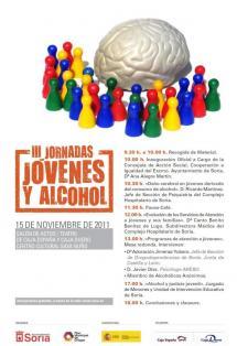El Ayuntamiento celebra mañana las III Jornadas Jóvenes y Alcohol