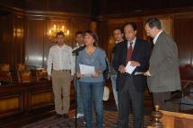 Presentado el Cross Internacional Ciudad de Soria en el Ayuntamiento