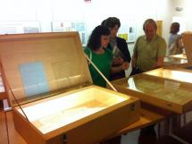 El Palacio de la Audiencia acoge la exposición España en el Corazón, la cultura del exilio, del Instituto Castellano y Leonés de la Lengua