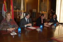 El Ayuntamiento de Soria rubrica con la Universidad Complutense de Madrid un convenio para protagonizar un Máster sobre gestión cultural
