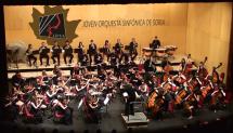 La Joven Orquesta Sinfónica de Soria sube al escenario con su nuevo director titular, Borja Quintas