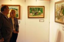 El Ayuntamiento inaugura una nueva exposición de pintura en el Centro de Recepción de Visitantes