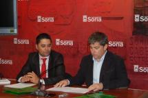 El Ayuntamiento de Soria y Ecovidrio colaboran para fomentar el reciclado de vidrio entre los ciudadanos