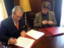 La Junta de Gobierno aprueba un convenio con el Banco de los Alimentos para la cesión de una nave en Valcorba y otro con Cañada Real para promoción