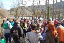 Más de 200 senderistas participan en la segunda ruta del Duero hasta Santa Ana