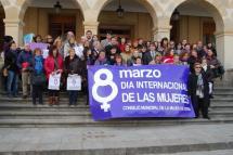El Día Internacional de la Mujer se conmemora durante el Pleno