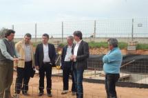 Las obras de ampliación del cementerio permitirán disponer de 308 unidades de enterramiento nuevas