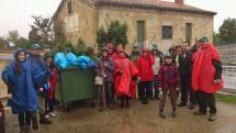 La lluvia no impide que más de 25 personas participen en la Jornada de Voluntariado Ambiental del Ayuntamiento